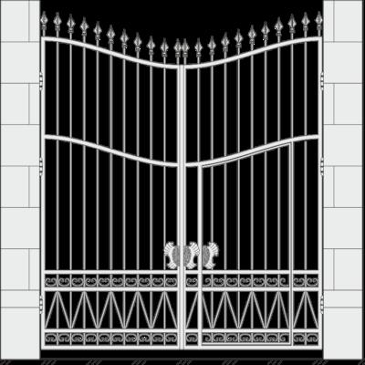 Кованые ворота 510