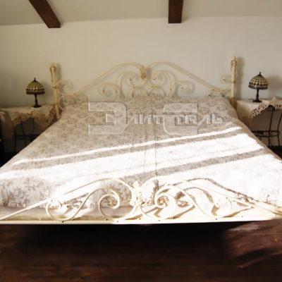 Кованая кровать Кр 002