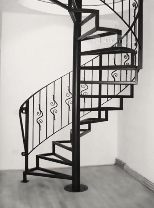 Кованая лестница Л 001