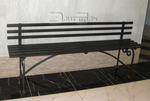 Кованая скамейка Ск 001