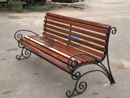 Кованая скамейка Ск 003