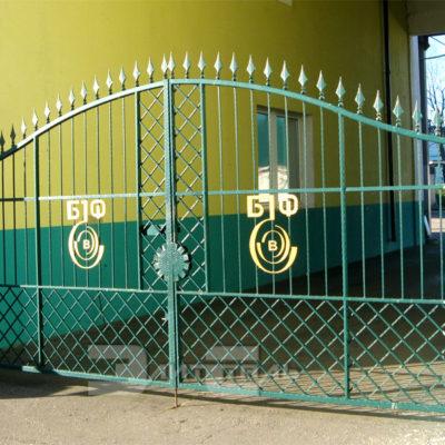 кованые ворота 533
