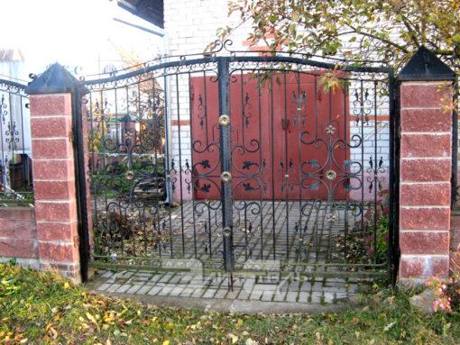 Кованые ворота 534