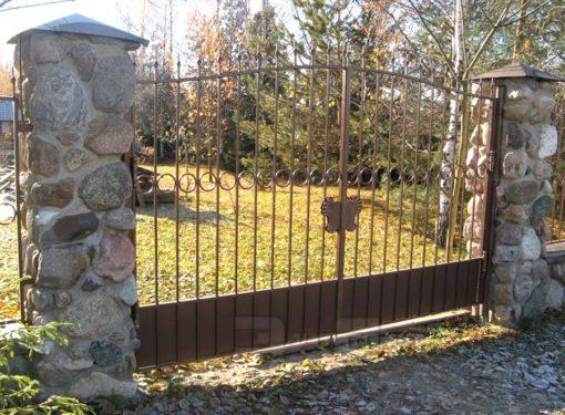 Кованые ворота 535