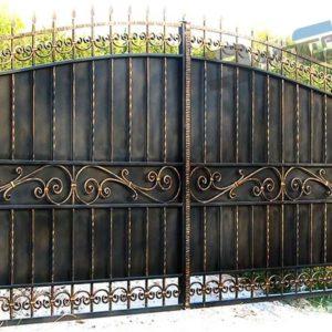 Кованые ворота 536